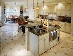 Nice Countertops and Floor