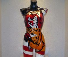 "L.E.MOORE: ""Squeezed American Can Sculpture"", Pop Art Sculpture 2014, Unikat"