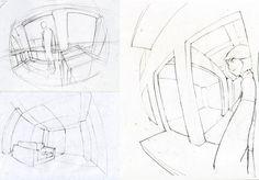 Znalezione obrazy dla zapytania how to draw fisheye perspective