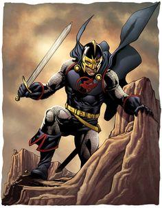 black knight marvel   Black Knight by ~MarkHRoberts on deviantART