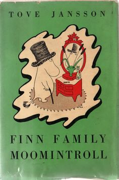 <3 Finn family Moomintroll by Tove Jansson #tovejansson