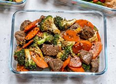 Super Easy Beef Stir Fry for Clean Eating Meal Prep Easy Beef Stir Fry, Stir Fry Meal Prep, Healthy Meal Prep, Healthy Snacks, Healthy Eating, Healthy Recipes, Stir Fry Recipes, Beef Recipes, Steak And Broccoli