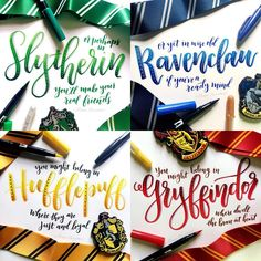 "993 Likes, 52 Comments - Alisse Courter (@alissecourter) on Instagram: ""days 9-12 of lettering harry potter with @amandakammarada and @calligraphynerd just for fun. I love…"""