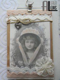*Verkocht* Brocante nostalgisch geurzakje 018 - Allerleileuks webshop