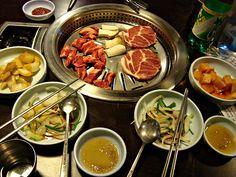 churrasco na Coréia é com carne bovina