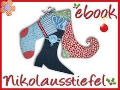 ebook nikolausstiefel diy xmas stocking