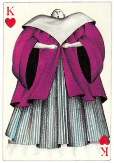King of hearts Jeu des 4 Operas designed by Silvia Maddonni King Of Hearts Card, Heart Cards, Playing Cards, France, Graphics, Design, Card Games, Gaming, Graphic Design