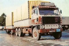 Volvo F combi Volvo Trucks, Classic Trucks, Big Trucks, Middle East, Cars And Motorcycles, Finland, Up, Transportation, Vehicles