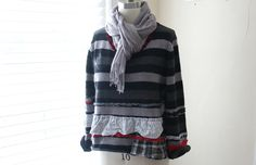 Bohemian Clothing / Recycled Sweater / by BreatheAgainClothing
