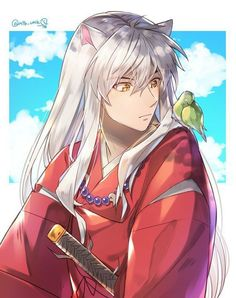 Inuyasha Cosplay, Inuyasha Fan Art, Inuyasha And Sesshomaru, Kagome And Inuyasha, Kagome Higurashi, Inuyasha Funny, Hot Anime Guys, Anime Love, List Of Anime Series