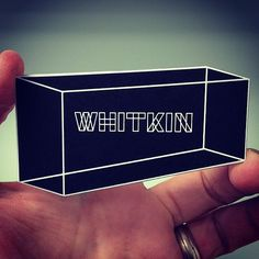 Tight register foil and diecut for @justwhitkin business cards | Flickr - Photo…