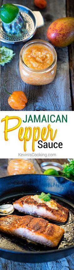 Jamaican Pepper Sauce. www.keviniscooking.com