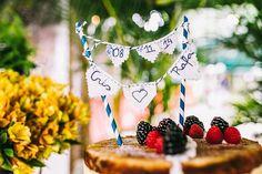Bride Style: Topo do bolo de casamento #bolo #topodobolo #casamento www.bridestyle.com.br