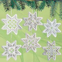 Wichelt Imports, Inc. Hardanger Star Ornaments Hardanger Kit