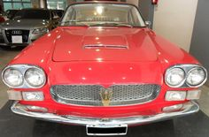 Maserati 3500 GT Sebring año 1967. Color rojo. Tapizado de cuero. Original.  http://www.arcar.org/maserati-3500-gt-sebring-45359