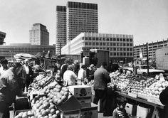 Produce Market On Blackstone Street 1971
