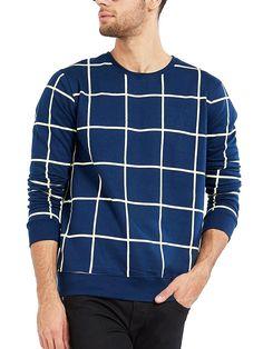 d309384e5f Maniac Men s Cotton T-Shirt (Mens-Ss18-Rn-Fs-Checked-Tshirt)  Amazon.in   Clothing   Accessories