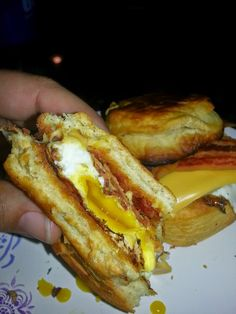 Cooking and Eating: Breakfast Sandwiches