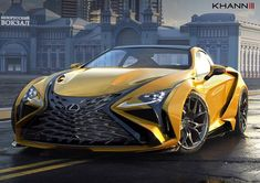 Check out this amazing render of the upcoming Vision GT by Can't wait to see the completed build! Lexus Coupe, Lexus Lc, Lexus Sports Car, Lexus Cars, Street Racing Cars, Auto Racing, Drag Racing, Porsche, Premium Cars