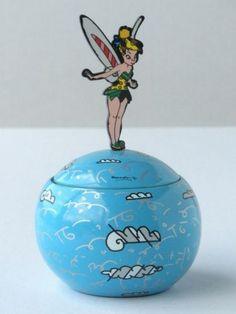 Romero Britto Disney Tinker Bell Box with Lid   eBay