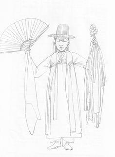 shaman pencil on paper