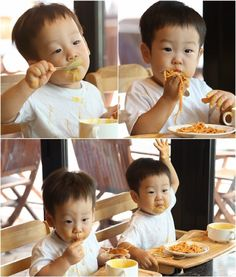 Who wants a mango? Superman Kids, Superman Family, Triplets, Twins, Korean Tv Shows, Baby Kids, Baby Boy, Baby Tumblr, Twin Boys