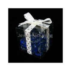 20Pcs Clear Plastic PVC Weddings Party Favours Gift Packaging Boxes Size Choice | eBay