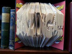 Bazinga! folded book