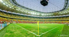 Panorama Arena Nationala Bucuresti! Soccer, Sports, Hs Sports, Football, European Football, Excercise, Sport, Exercise, Soccer Ball