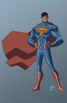 Animated Superman! by *EricGuzman