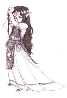 Hilda sketch | #Zelda #3DS #ALBW