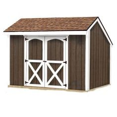 Best Barns Aspen 8 ft. x 10 ft. Wood Shed Kit-aspen_810 at The Home Depot  New sheep barn addition