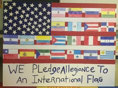 Outrageous! Public School Students Taught To 'Pledge Allegiance To An International Flag' - http://conservativeread.com/outrageous-public-school-students-taught-to-pledge-allegiance-to-an-international-flag/