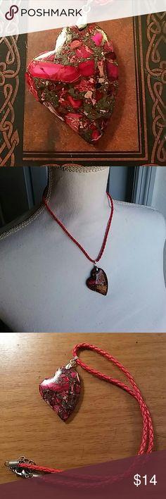 jaspis handgemachten schmuck kabel zusammenfassung steine herz schmuck halsketten - Zusammenfassung Ben
