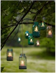 trendy party garden decoration diy mason jars - All About Backyard Party Lighting, Outdoor Tree Lighting, Diy Outdoor Party, Lighting Ideas, Outdoor Parties, Outdoor Trees, Outdoor Hammock, Outdoor Weddings, Hanging Mason Jars