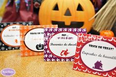 Halloween Printable Party Collection by Kids&Babies Design
