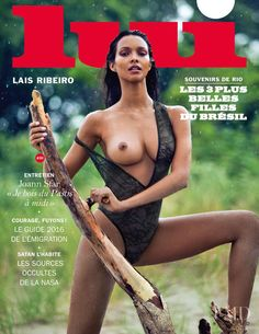 Cover of Lui France with Lais Ribeiro, September 2016 (ID:39924)| Magazines | The FMD #lovefmd