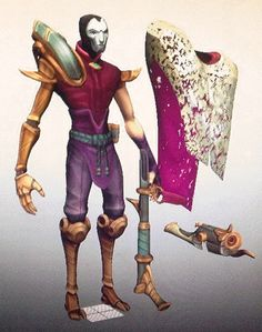 League of Legends Cosplay Prop -- Jhin Shoulder Arm and Leg Armor Version 01