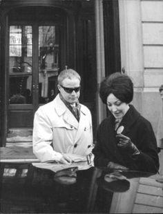 Marlon Brando in Paris.
