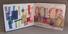 Artists Book Color Progresson 1