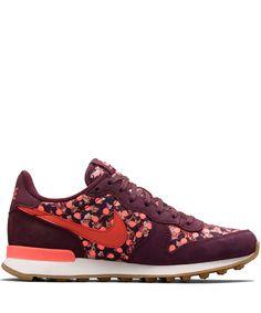 Nike x Liberty Burgundy Belmont Ivy Liberty Print Internationalist Trainers | Shoes by Nike x Liberty | Liberty.co.uk