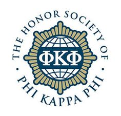 Phi Kappa Phi Honor Society - just got my nomination. Finally some recognition for m 4.0 GPA for the last four years of university! One semester left!