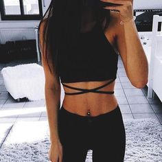 865 Best Crop top outfits images in 2019  9a5ea8c9c