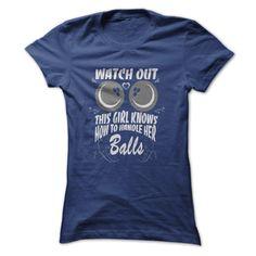 Bowling - Girl Handles Balls T-Shirt
