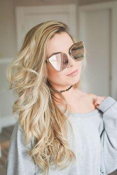 Round Lens Sunglasses, Sunglasses Women, Glasses Trends, Clip Hairstyles, Cute Glasses, Fashion Eye Glasses, Trending Sunglasses, Stylish Girl Images, Womens Glasses