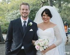 Wallpaper And Background Photos Of Episode White Wedding Bts For Fans Grey S Anatomy Images Jennifer Romanello Sara Ramirez