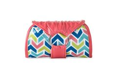 Women's Styles Wristlets In A Pikle Sweet in Candied Zig Zag With Interior Pouches An...