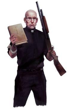 The Preacher by BorjaPindado.deviantart.com on @DeviantArt