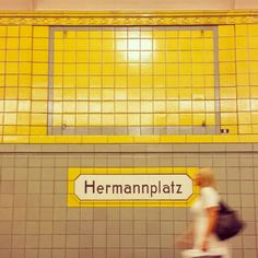 Berlin, U-bahn U Bahn, Grid, Destinations, Viajes