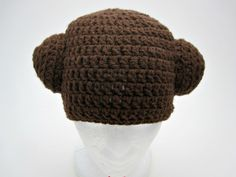 Crochet Princess Leia Hat/Photo OP/Costume by Francesca4me on Etsy